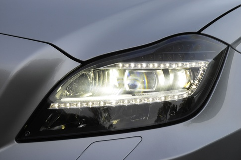 Why do cars have white LED headlights?