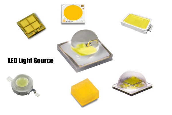 LED Light Source OSRAM , CREE, Philips, COB Or CSP