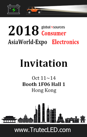 Oct 11-14, 2018 Global Souces Asia World-Expo